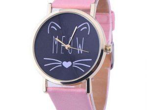 Relojes Gato Meow Rosado