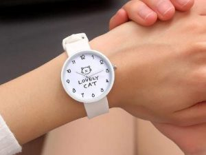 Relojes Lovely Cat Blanco