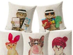 Cojines fashion cat