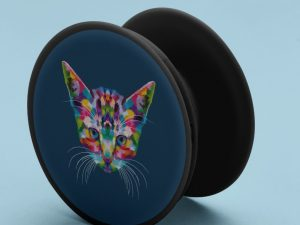 Popsocket gato multicolor