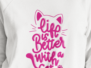 Buzo life is better whit a cat